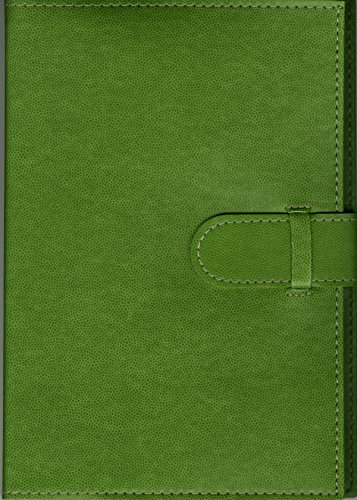 Pierre Belvedere Executive A5 Notebook, Refillable, Wasabi (877970)
