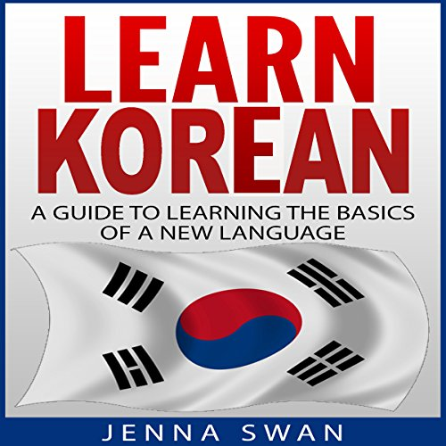 Learn Korean audiobook cover art