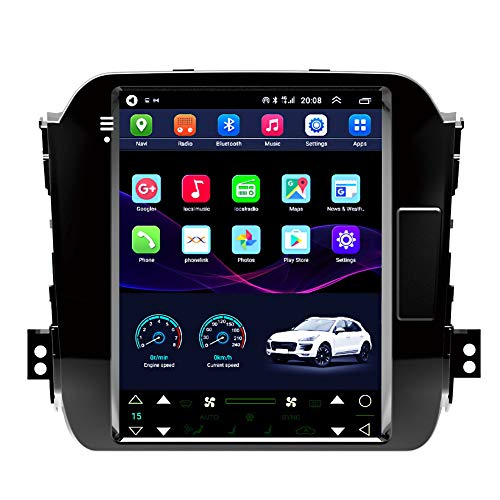 Navegación por Satélite, 9 Pulgadas/Android 10 Navegación GPS para Automóviles, para Kia Smart Running Smart 11-15 Soporte De Pantalla Vertical Control del Volante/Bluetooth,WiFi 2g+32g