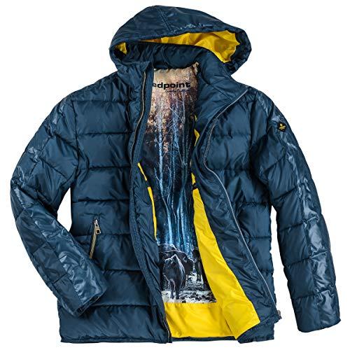 Redpoint Steppjacke große Größen stahlblau Ross, deutsche Größe:58