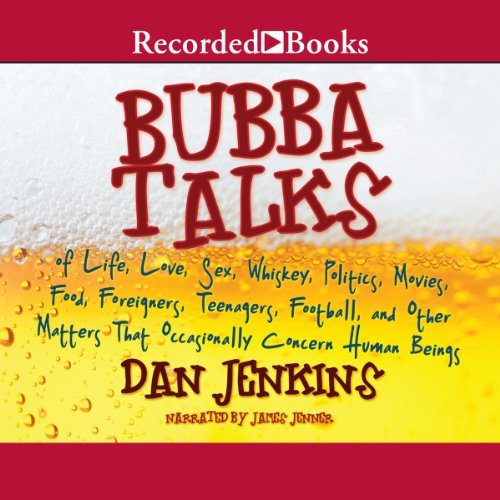 Bubba Talks audiobook cover art