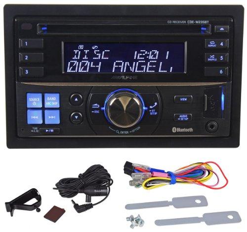Alpine cde-w235bt 200W Bluetooth Multicolor