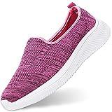 Gaatpot Mujer Zapatillas Casual Mocasines Mesh Calzados para Correr en Asfalto Zapatillas de Estar por Casa Deportivo de Exterior Zapatos Pink 37.5/38EU=38CN