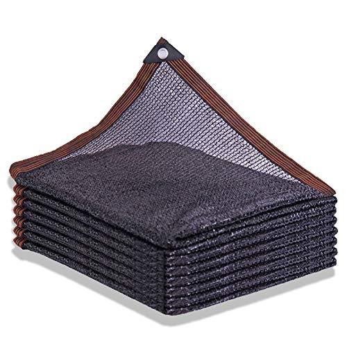 XLD 60% Sonnenschutz Shade Windschutz Netting mit verzinktem Messing Schnalle leicht und einfach zu Balkon Privacy Screen Install for Garten-Hof Außen-Pools Überdachungen (Size : 4 * 8m)
