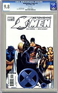 ASTONISHING X-MEN #12 FIRST PRINTING WHITE PAGES CGC 9.8 NM/MT UNSCRATCHED