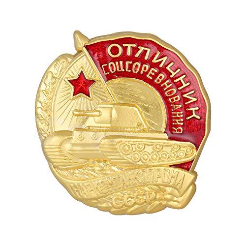 GuDeKe Russische sowjetische Abzeichen-Exzellenz in der Panzerindustrie