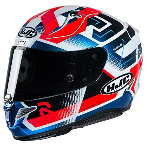 HJC Helmets RPHA 11 Pro Helmet - Nectus (Medium) (RED/White/Blue)