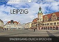 Leipzig - Spaziergang durch Epochen (Wandkalender 2022 DIN A4 quer): Durch alle Epochen von Romanik bis in die Moderne (Monatskalender, 14 Seiten )
