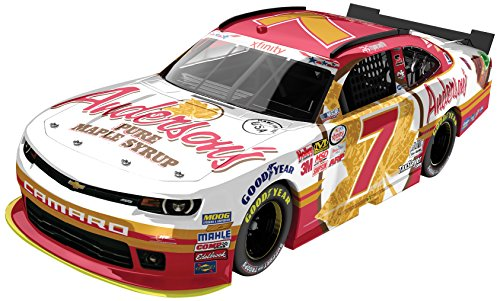 Lionel Racing Regan Smith # 7 Anderson'S Maple Syrup 2015 Chevrolet Camaro Nascar Xfinity Series 1:2 - http://coolthings.us
