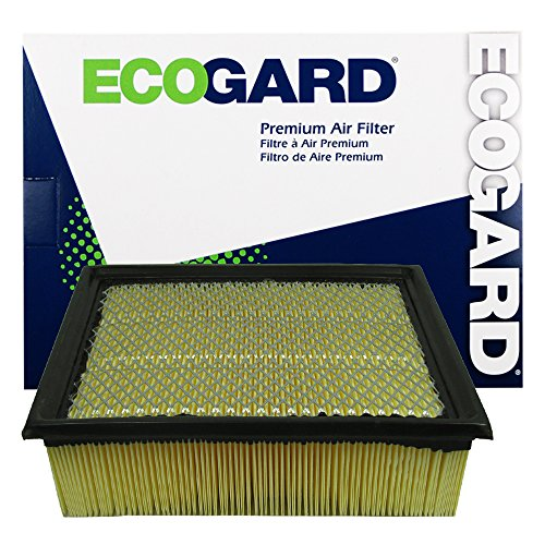 ECOGARD XA5642 Premium Engine Air Filter Fits Ford F-150 3.5L 2011-2021, F-150 5.0L 2011-2021, F-150 2.7L 2015-2020, F-250 Super Duty 6.2L 2011-2016, F-150 5.4L 2009-2010, Expedition 5.4L 2007-2014