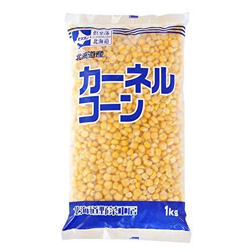 冷凍野菜 カーネルコーン モリタン 1kg 北海道産 とうもろこし 粒__