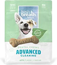 product image for Tropiclean 20 Count Advanced Cleaning Dental Chews For Small Dogs