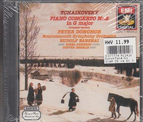 Tchaikovsky Piano concerto No. 2 in G major (UK Import)