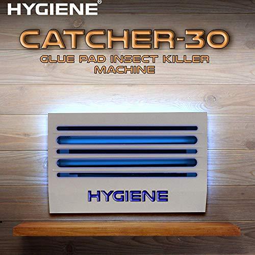 Hygiene Catcher 30W UV Tube Glue Pad Insect Killer Machine, Bug Catcher, Bug-Zapper, Repellent, Fly Swatter