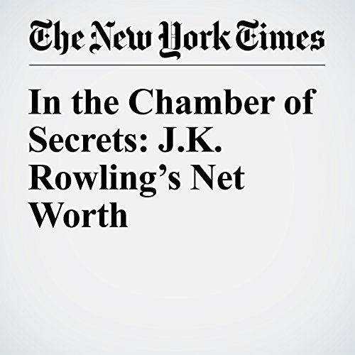 In the Chamber of Secrets: J.K. Rowling's Net Worth audiobook cover art