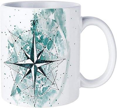 星印マグカップ おしゃれ セラミック コーヒーマグ 創意コップ かわいい ティーカップ 330ML