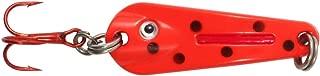 Northland Tackle GSS3-93 O-Shot Spoon Bait, Ladybug, 1/8 oz