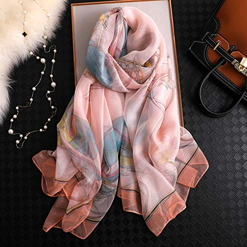 YCEOT Sjaal sjaal en sjaal tulband haar sjaal hijab tule lady strand handdoek sjaal