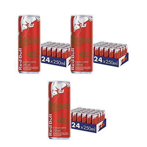 Energético Red Bull Energy Drink+melancia, 250ml (72 latas)