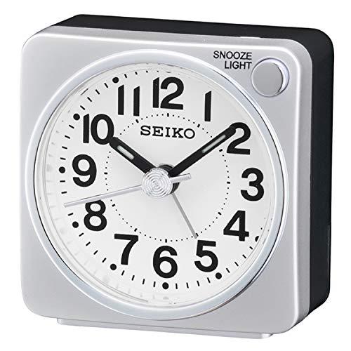 Seiko QHE118S Analogue Alarm Cl