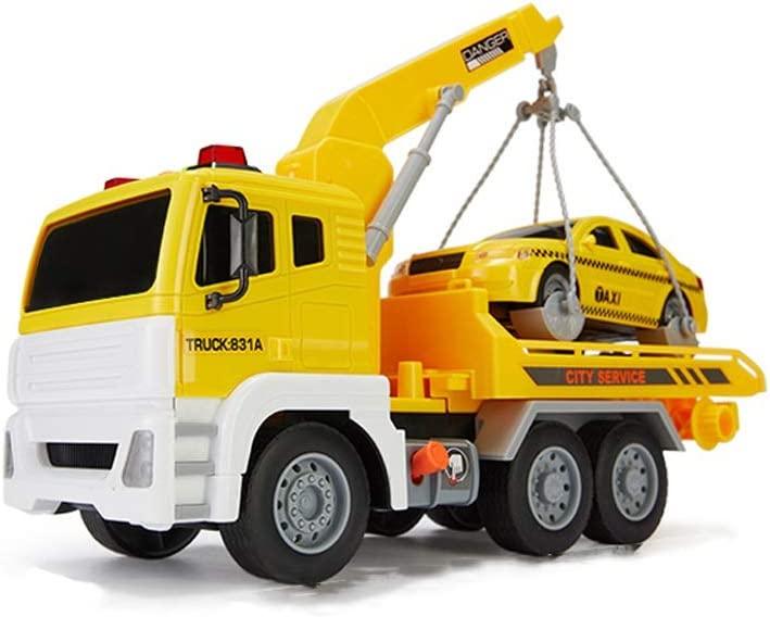 Lihgfw Flatbed Trailer 5 popular Toy Rescue Max 84% OFF Truck Large Engineering