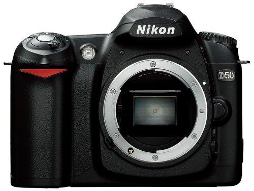 Nikon D50 Digital SLR Camera with Af-s 18-55mm Lens