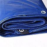 YSNUK Lonas Lona Acolchada Impermeable y Resistente al Agua Camión de protección Solar al Aire Libre Doble Cara Anti envejecimiento Cobertura de Sombra (Size : 3 * 4m)