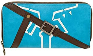 Bioworld Legend of Zelda Breath of The Wild Juniors Zip Around Wallet