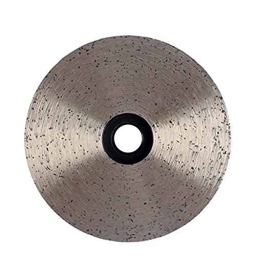 YYOBK JP Ruedas De Disco De Copa Continua De 4 Pulgadas / 100 Mm De Diamante, Rueda De Muelle Abrasivo De Granito De Piedra De Mármol De Piedra De Mármol 1pcs (Color : Fine, Size : 5 8 11 USA Thread)