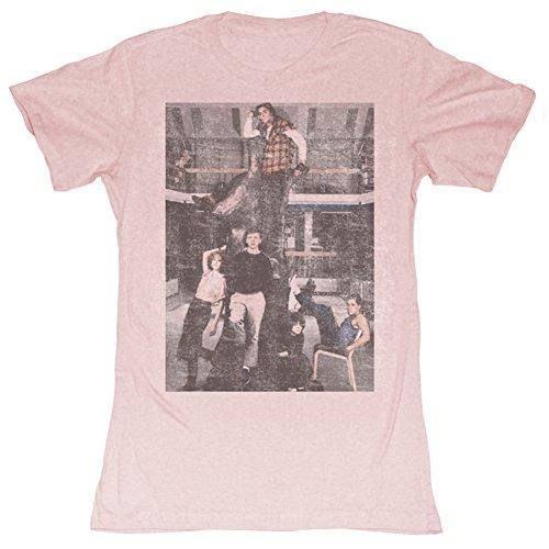Ladies Pink Breakfast Club T-shirt, S to XXL