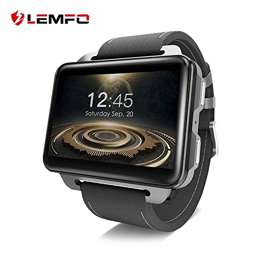 LEMFO LEM4 PRO Smart Watch Phone, 2.2