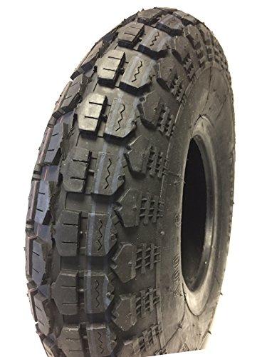 Reifen und Schlauch 4.00-6, super stabil, passend u.a. für Tret GoKart, Transportgeräte, Schubkarren, Tragkraft 210 kg