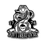 Don't Tread On Me Rattlesnake Liberty Gadsden...
