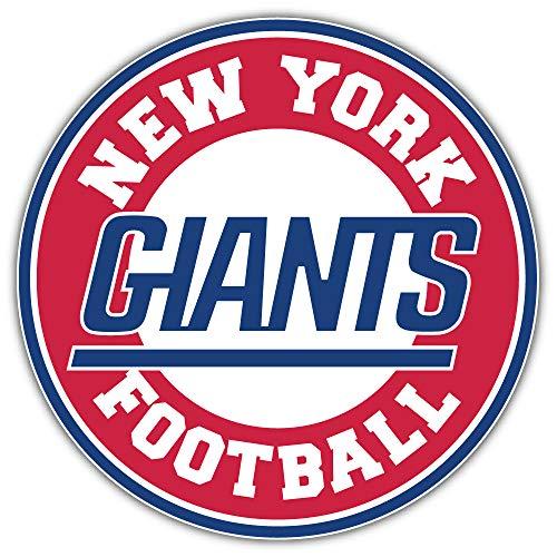 New York City Giant Sport Football Logo Die-Cut Sticker Decal 12'' X 12''