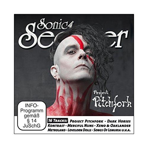 Sonic Seducer 10-14 inkl. M'Era Luna Special + CD mit Song vom Album Blood von Project Pitchfork + 15 weitere Tracks (Cold Hands Seduction Vol. 158) + exkl. EP von Megaherz + exkl. Sticker