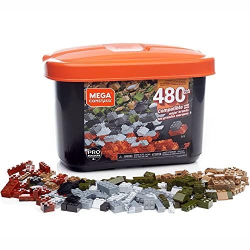 Mega Construx Caja PRO de 480 piezas y bloques de construcción para...