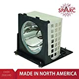 SpArc Lighting for Mitsubishi 915P020010 TV Lamp with Enclosure fits WD-52327 WD-52525 WD-52725 WD-52825 WD-62327 WD-62525 WD-62725 WD-62825 WE52825