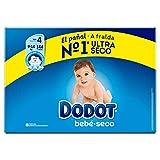 Dodot Bebé-Seco Pañales Talla 4, 144 Pañales, con Canales de Aire