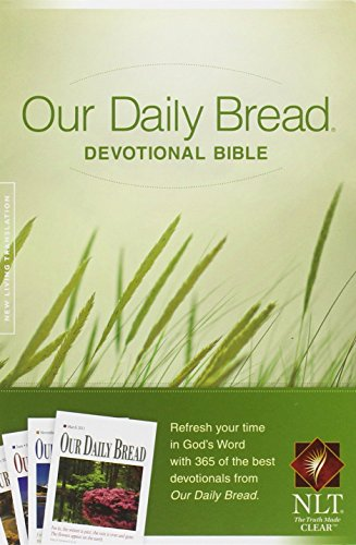 Our Daily Bread Devotional Bible NLT (Softcover)