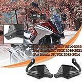 Lorababer Motocicleta para NC 700/750 X CB 650 F Protector de mano Protector de viento Manillar Guardamanos Barra de cepillo para Honda NC700X (2012-2014) CB650F (2014-2019) NC750X (2019-2021)