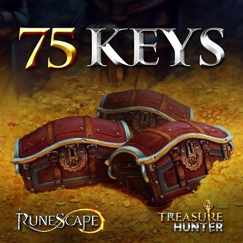 75 Treasure Hunter Keys: RuneScape 3 [Instant Access]