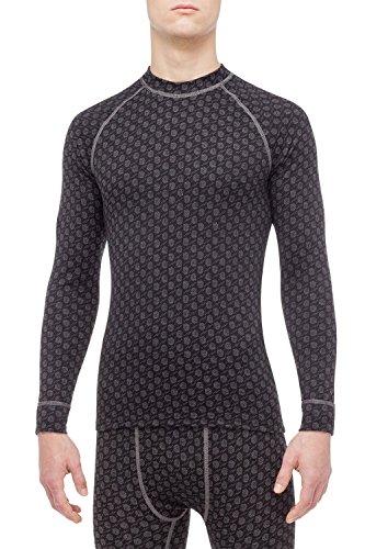 Thermowave Herren Xtreme Long Sleeve Jersey, Dunkel Grau/Grau, XXXL