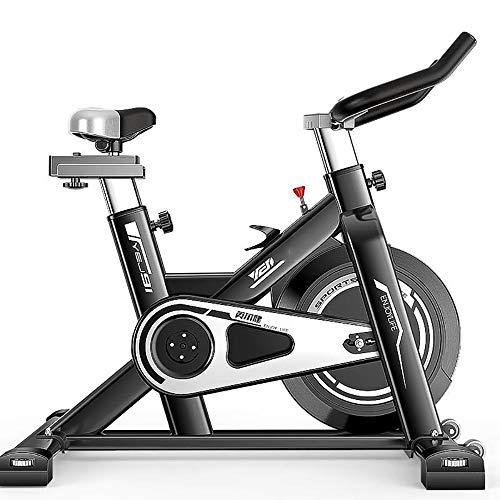 FGONG Vélo d'Intérieur Vélo Sport Biking Indoor Bike pour Adulte Vélo d'Appartement Home Trainer, Poignées avec Cardiofréquencemètre, Selle et Poignée Réglables, Stabilité, Silencieux
