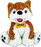 Alaska Friends Sitting Plush Brown Husky 8' Kiska