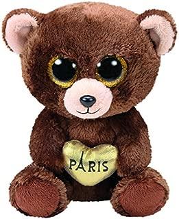 Ty Beanie Boos Darcy Paris Bear Brown 6