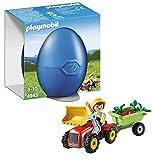 Playmobil - 4943 - Oeuf de Pâques - Garçon avec Petit Tracteur