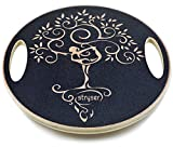Stryser Tabla de Equilibrio de Madera, Balance Board Fitness Ejercicio Coordinación diámetro 39,5 cm