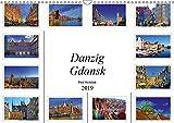 Danzig Gdansk (Wandkalender 2019 DIN A3 quer): Danzig - Eine atemberaubende Architektur, eine unglaubliche Vielfalt an beeindruckenden Bauwerken aus ... (Monatskalender, 14 Seiten ) (CALVENDO Orte) - Paul Michalzik