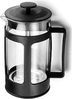 XIBLISS French Press Coffee and Tea Maker, 21 Oz(600 ML), Black