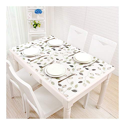 NINGWXQ Tabel Beschermer Plastic Tafel Dekken Olie-proof Scratch-resistant Theetafel Mats Dining Desk Mats, 2 Stijlen, Klantgerichte Grootte (Color : 1.5mmB, Size : 60x120cm)